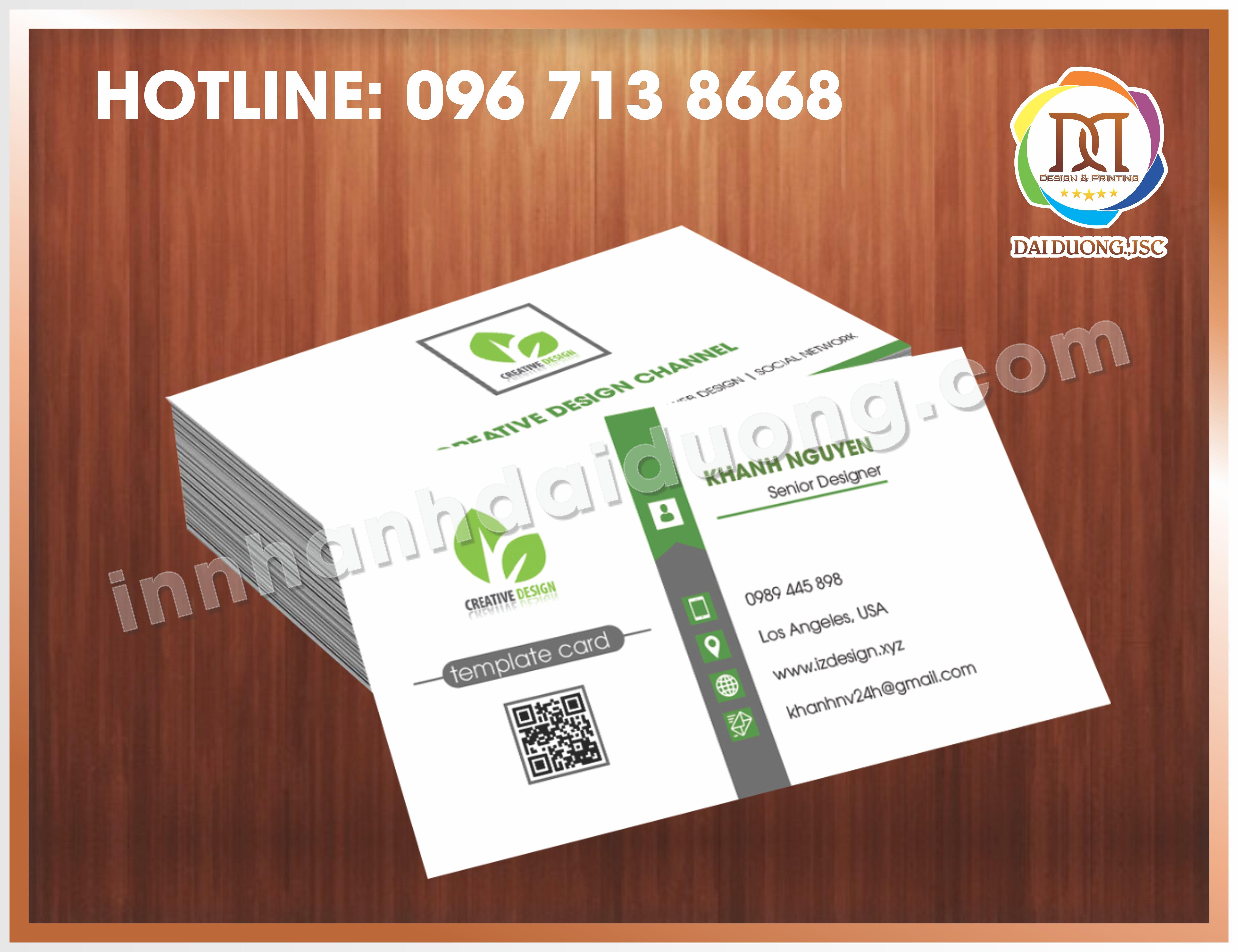 In Card Visit Dep Nhat Tai Thanh Xuan 1