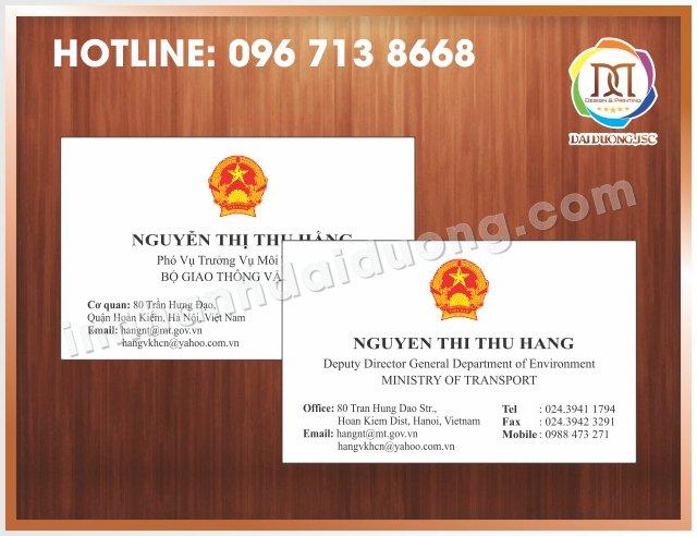 In Card Visit Uy Tin Tai Dong Da 1