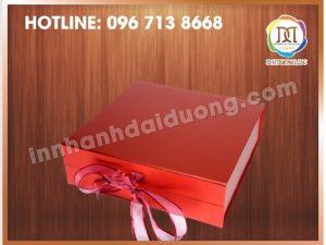 Cơ Sở In Hộp Cứng Giá Rẻ Tại Hà Đông