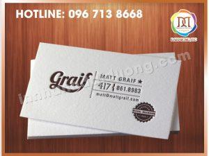 In Card Visit Tại Thanh Xuân