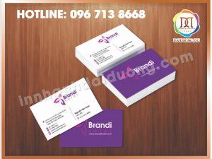 In Name Card Lấy Ngay Tại Hà Nội