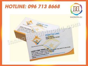 In Card Visit Giá Rẻ Tại Bắc Giang