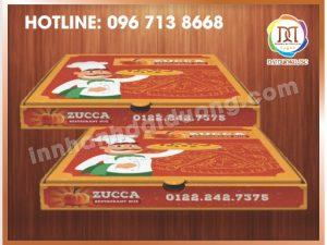 Xưởng In Hộp Pizza Giá Rẻ Nhất Hà Nội