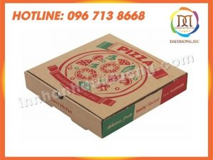 Địa Chỉ In Hộp Pizza Giá Rẻ