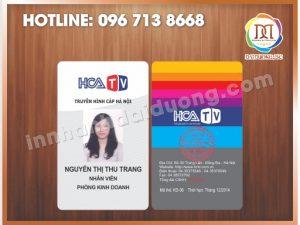 Cơ sở in thẻ nhựa rẻ nhất Hà Nội