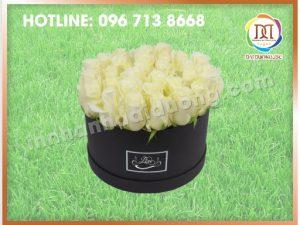 Hộp Hoa Tròn Đẹp Nhất Hà Nội