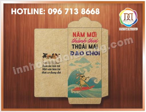 Cơ sở in lì xì giá rẻ tại Hà Nội