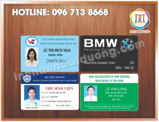 Địa chỉ cung cấp phôi thẻ nhựa tại Hà Nội
