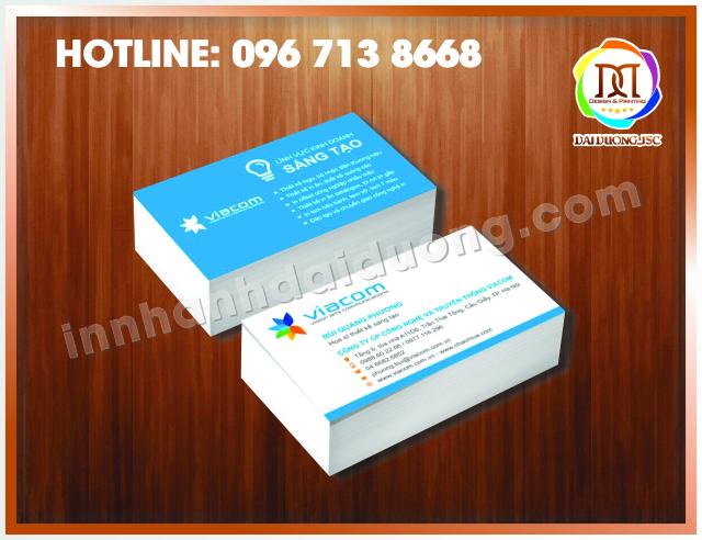 In Card Visit Lấy Ngay Giá Rẻ Tại Hà Nội