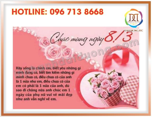 Dia Chi In Thiep Chuc Mung 8 3 Tai Cau Giay