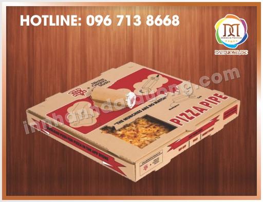 Địa Chỉ Làm Hộp Pizza Tại Hà Nội