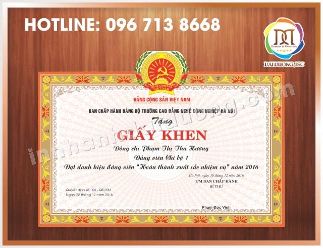 In Bang Khen Giay Khen 2