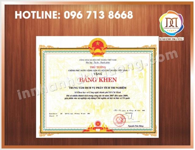 In Bang Khen Giay Khen Tai Ha Noi 1