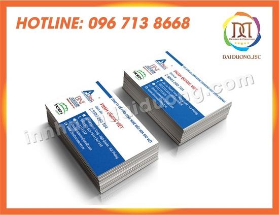 In Card Visit Gia Re Tai Bac Giang 2
