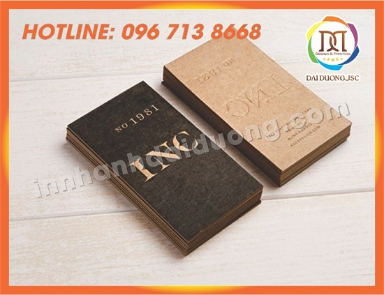 In Card Visit Gia Re Tai Nghe An