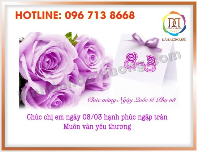 In Thiep Chuc Mung 8 3 Dep Nhat Tai Thanh Xuan