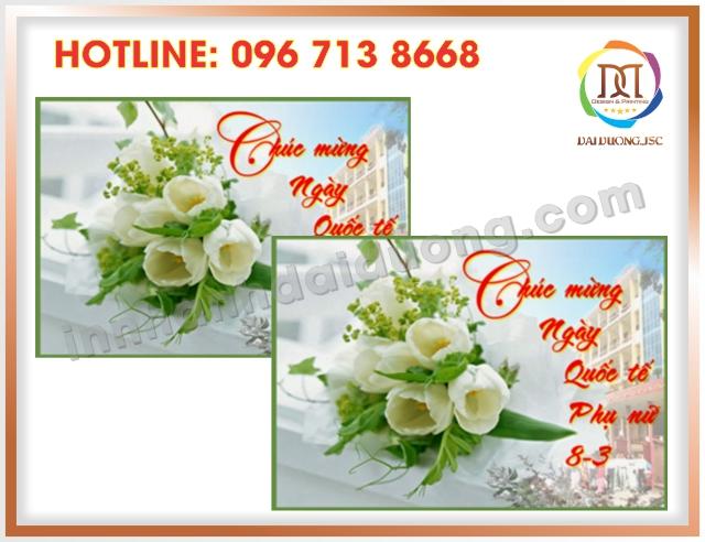In Thiep Chuc Mung 8 3 Gia Re Tai Cau Giay 2