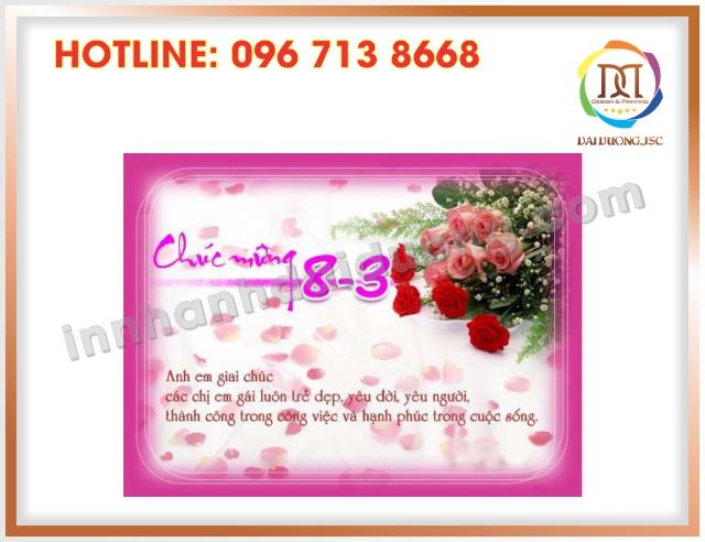 In Thiep Chuc Mung 8 3 Lay Ngay Tai Cau Giay 2