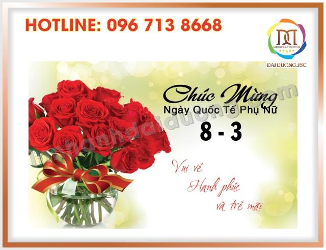 In Thiep Chuc Mung 8 3 Lay Ngay Tai Cau Giay