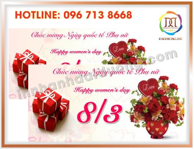 In Thiep Chuc Mung 8 3 Uy Tin Nhat Tai Thanh Xuan