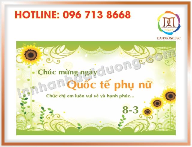 In Thiep Chuc Mung 8 3 Uy Tin Tai Thanh Xuan
