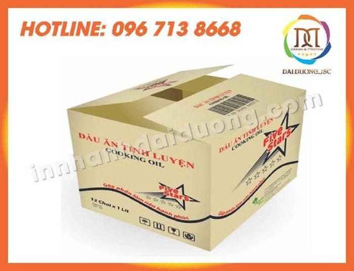 In Thung Carton Gia Re Tai Ha Noi