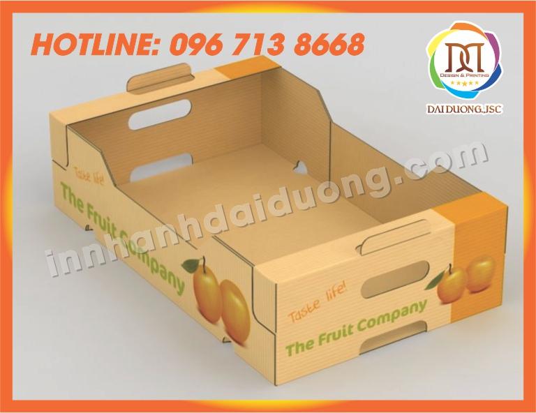 In Thùng Carton Hộp Carton