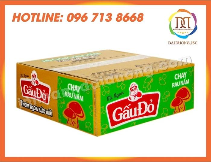 In Thùng Carton Hộp Carton Giá Rẻ