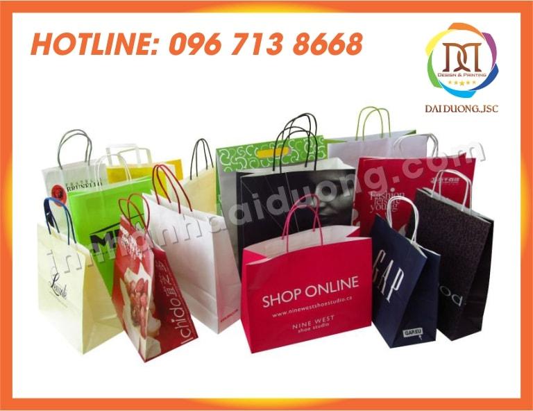 In Túi Giấy Shop Thời Trang Giá Rẻ