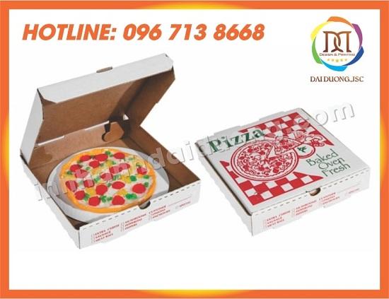 In Vỏ Hộp Pizza Giá Rẻ Tại Hà Nội