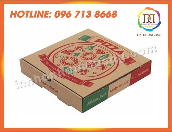 In Vỏ Hộp Pizza Giá Rẻ