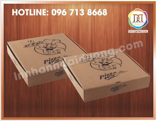 Làm Hộp Pizza Đẹp