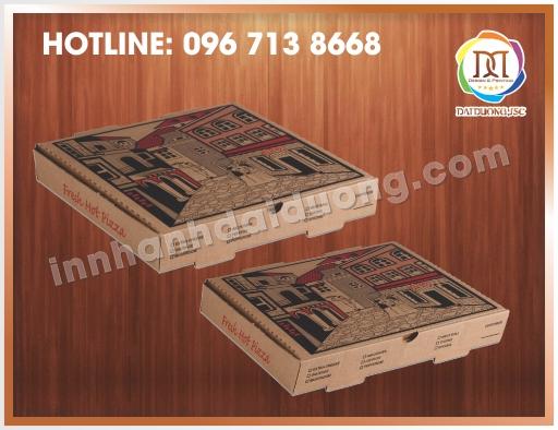 Mẫu Hộp Pizza Độc
