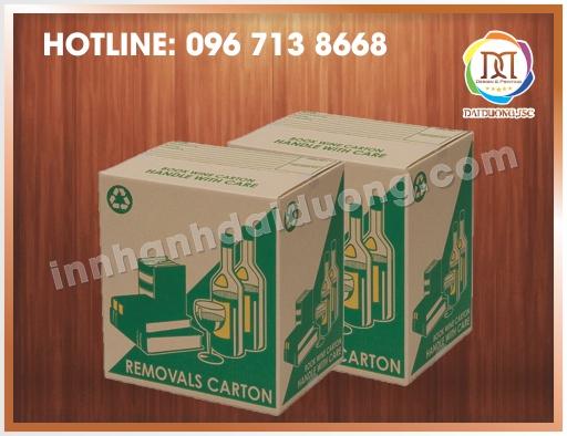 Mau Thung Carton Lanh