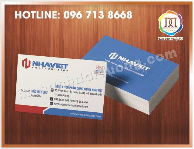 In Card Visit Uy Tin Nhat Tai Thanh Xuan 1