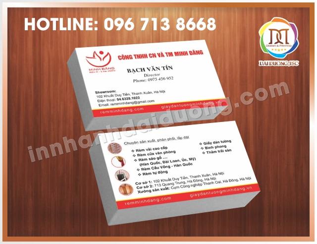Dia Chi In Card Visit Tai Thanh Xuan