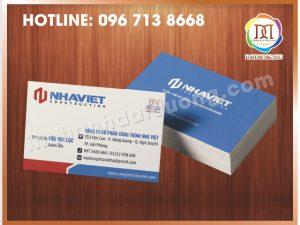 In Card Visit Uy Tín Nhất Tại Thanh Xuân