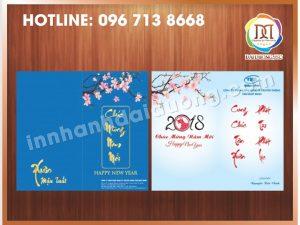 In Thiệp Tết Giá Rẻ Nhất Tại Hà Nội