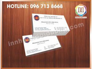 In Card Visit Giá Rẻ Nhất Tại Đống Đa