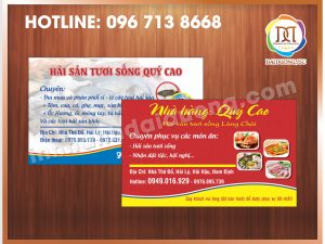 In Card Visit Giá Rẻ Nhất Tại Cầu Giấy