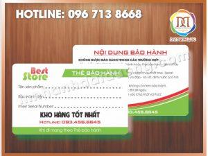 In thẻ nhựa nhanh nhất tại Hà Nội