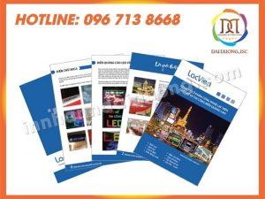 In Catalogue Tại Thái Bình