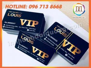 Các Mẫu Thẻ Nhựa – Thẻ VIP