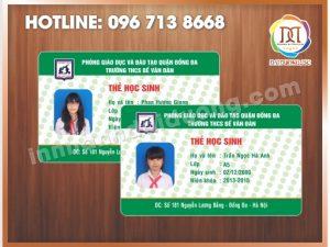 Cơ sở in thẻ nhựa đẹp nhất Hà Nội