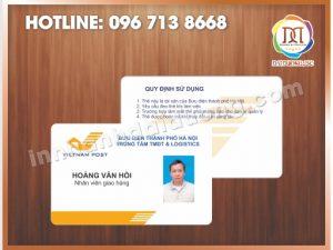 Dịch vụ in thẻ nhanh nhất tại Hà Nội