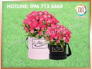 Hộp Hoa Tròn Lấy Ngay Tại Hà Nội