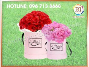 Hộp Hoa Tròn Tại Hà Nội