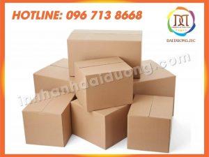Làm Hộp Carton Thùng Carton Tại Hà Nội