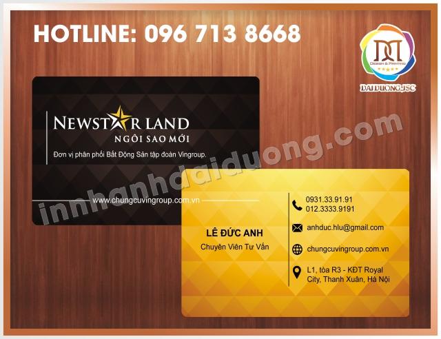 In Card Visit Uy Tin Nhat Tai Dong Da