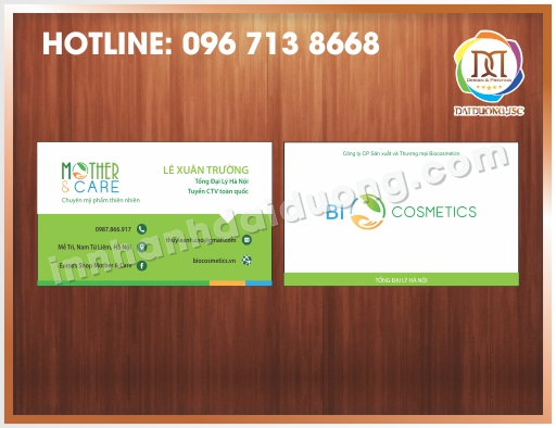 In Card Visit Lay Ngay Tai Cau Giay 1